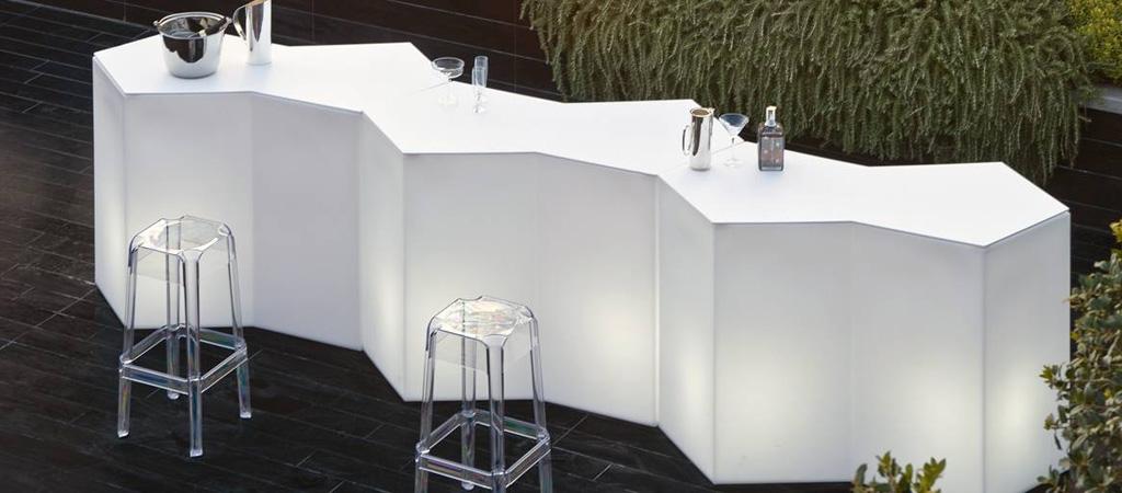 Banco luminoso cocktail iceberg
