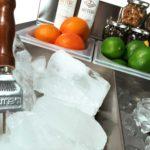 Cocktail station Carmen - dettaglio vasca ghiaccio