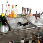 Cocktail station Modular - dettaglio vasche