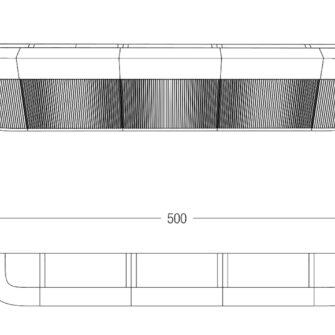 Bancone Bar Cordiale Misure 500 cm
